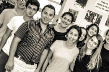 Valantis Stamelos visits ACI film students